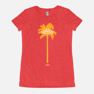 LAS VEGAS / Palm Tree Cell Tower / Triblend T-Shirt / Women's