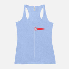 Load image into Gallery viewer, THE ROYAL TENENBAUMS / Tenenbaum Flag / Racerback Tank / Women's