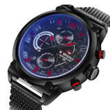 Naviforce Men Sports Watches Stainless Steel Quartz Watch