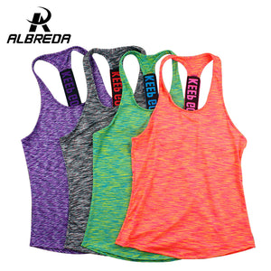Quick Drying Running Tank Tops Gym shirt fitness Vest
