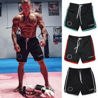 Mens bodybuilding Sporting Quick dry Breathable short