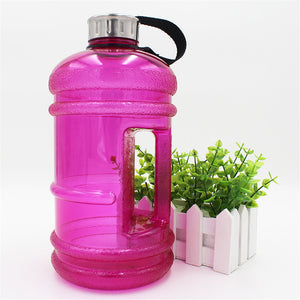 2.2L Water Bottles Large Capacity fitness Outdoor Sports Gym Training