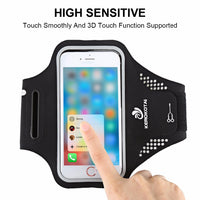 Lightweight Cell Phone Armband Sweat Proof Fit Big Arm For Running Strap For iPhone 7/6/6S S7 S6 S5