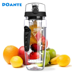 32oz 900ml Fruit Infuser Juice Shaker Sports