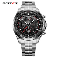 RISTOS Stainless Steel Watch Extreme Sports Wristwatch  Watches