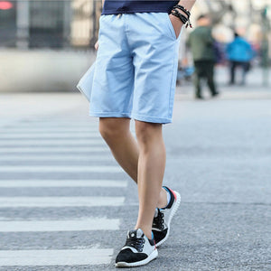 Men Cotton Fashion Casual Comfortable Cool Shorts