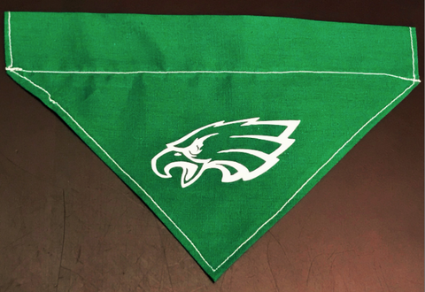 Eagles Dog Bandana - Over the Collar