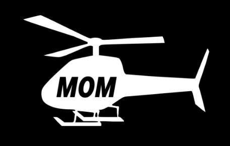 Helicopter Mom - Helicopter Dad - Decal