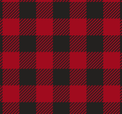 "Red Buffalo Plaid Pattern HTV Roll 20""x3'"