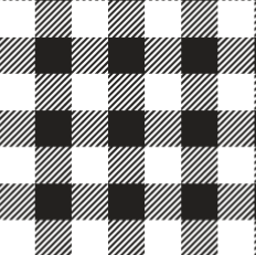 "White Buffalo Plaid Pattern HTV Roll 20""x3'"