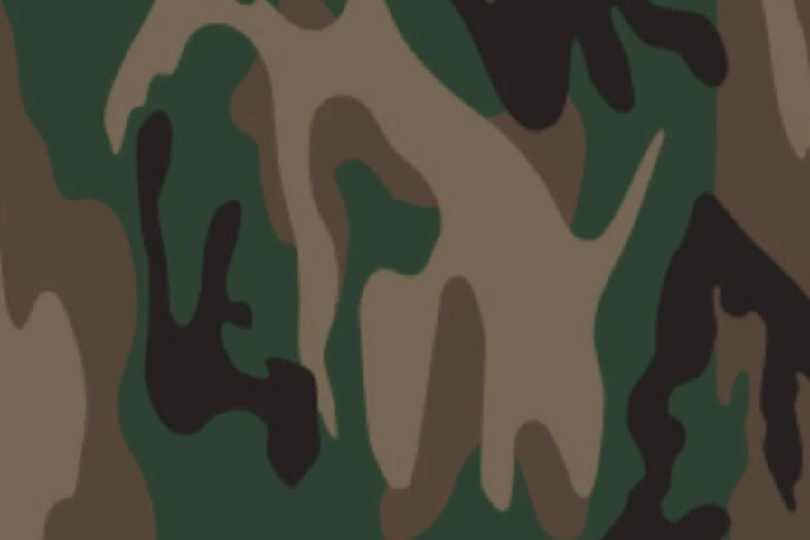 "Camouflage Pattern HTV Roll 20""x3'"