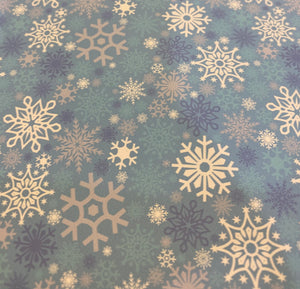 "Winter Wonderland Pattern 20""x12"" Sheet"