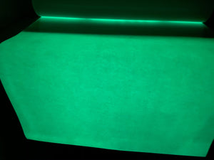 "Glow In The Dark Heat Transfer Vinyl Sheet 12""x20"""