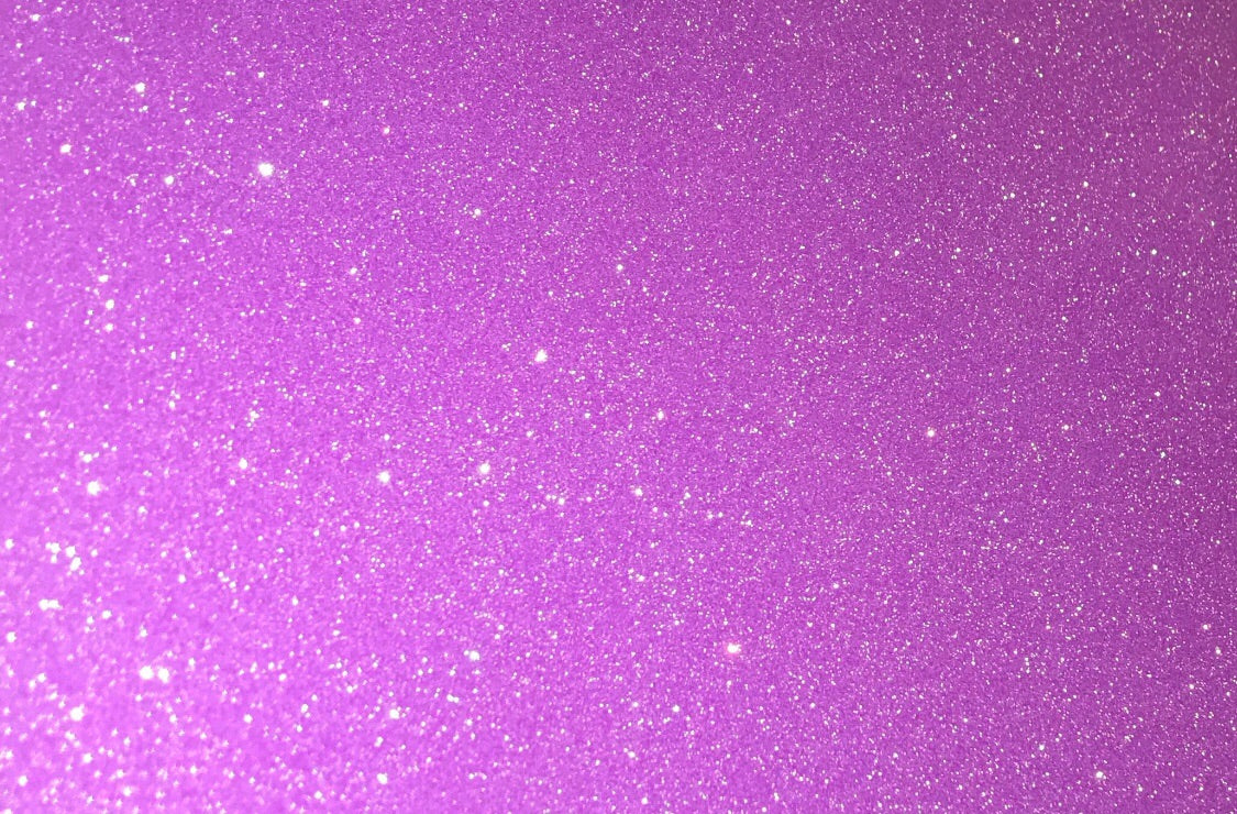 "Fluorescent Purple Glitter Flake Roll - 20""x5'"