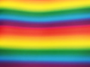 "Prizm Fade Rainbow 12""x20"" Sheet"