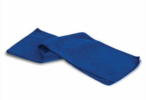 Royal Blue Fleece Scarf