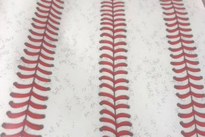 "Stitch Stripe Baseball Pattern HTV Roll 20""x3'"