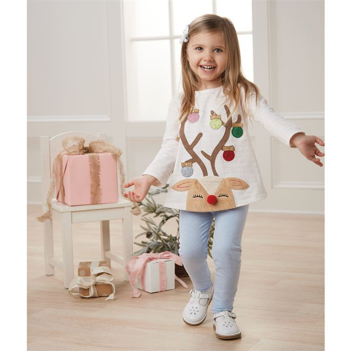 Reindeer Tunic and Legging Set - Select Size
