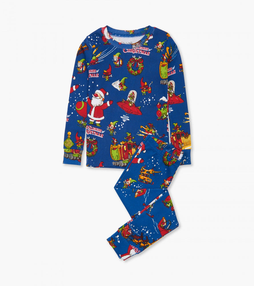 12 Sleighs of Christmas Pajamas