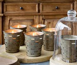 Olive Bucket Candles