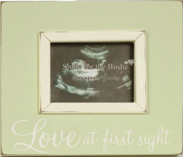Love At First Sight- Green- 141-SG - Sonogram Frame