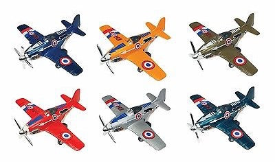 Die Cast Air Chief WWII Fighter Plane - 6 Colors to Choose