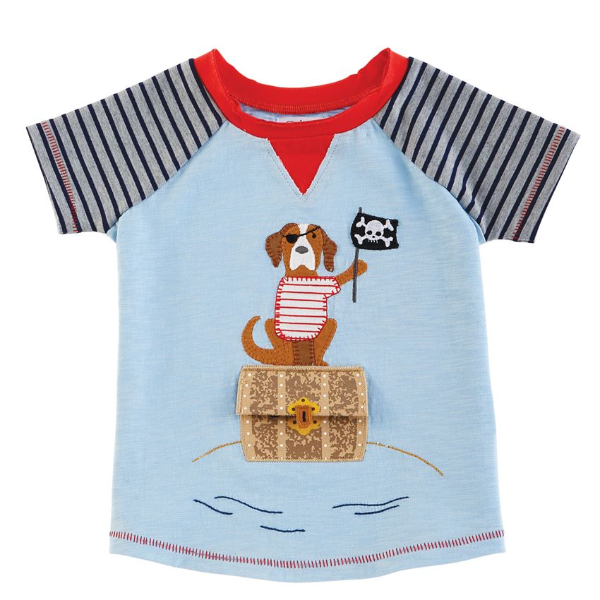 Puppy Pirate Summer Bud Tee - Select Size