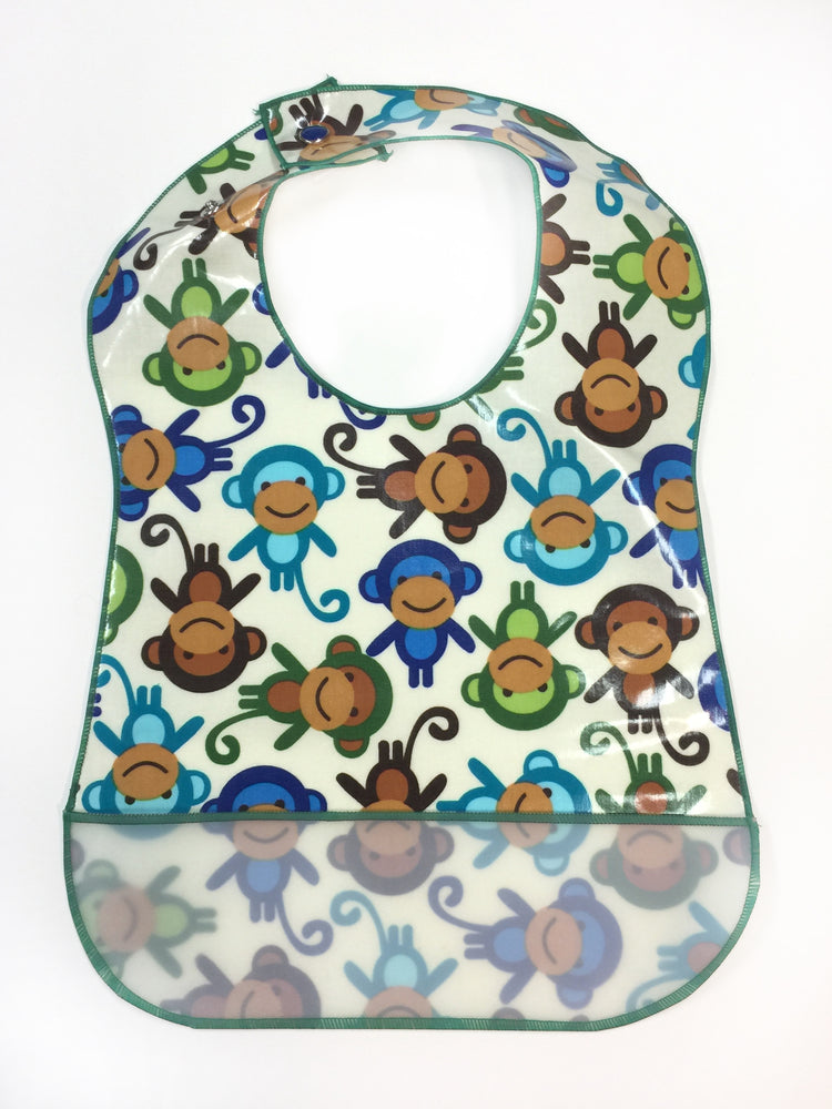 Monkeys - Laminate Bib - POS