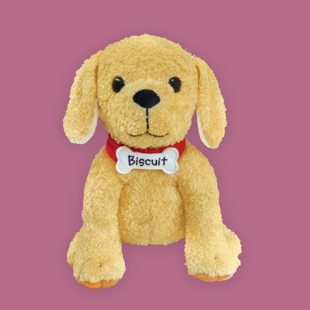 Biscuit the Little Yellow Dog Plush
