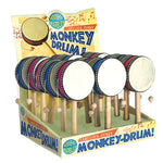 Monkey Drums - Select Blue or Red