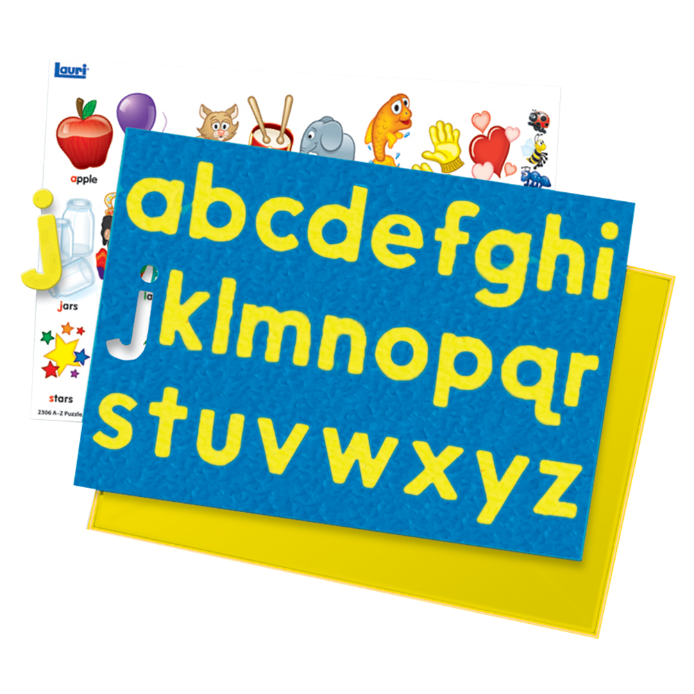 A to Z Puzzles Lowercase