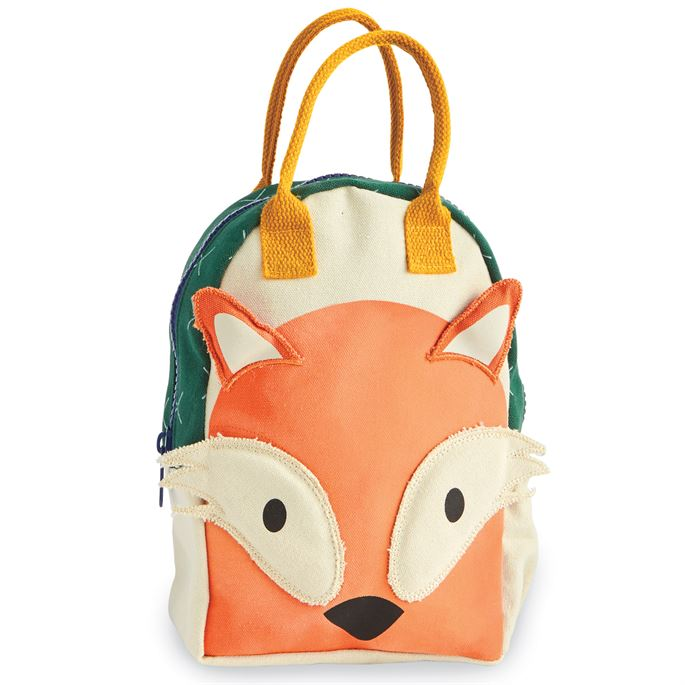 Fox Canvas Backpack