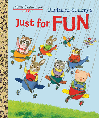 Load image into Gallery viewer, Richard Scarry's Just for Fun - Little Golden Book