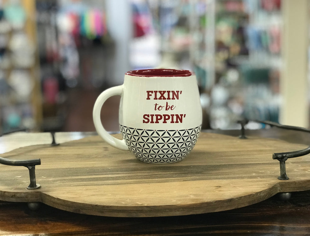 Fixin' To Be Sippin' Mug