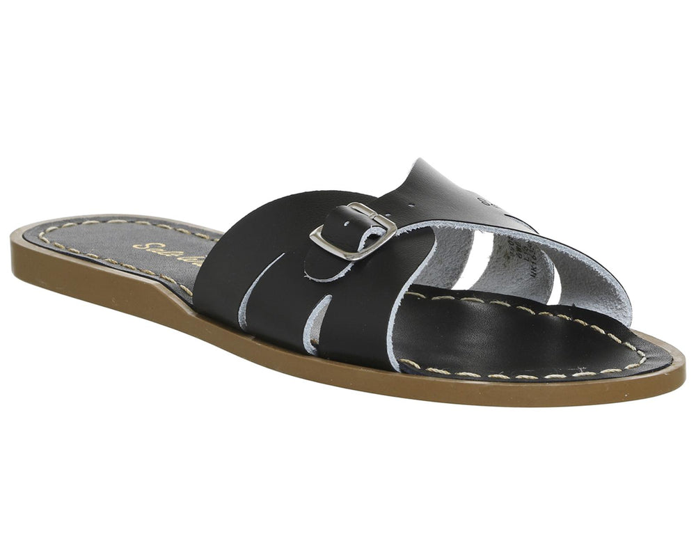Salt Water Classic Slides- Black