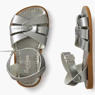 Salt Water Original Sandals- Toddler To Adult- Pewter