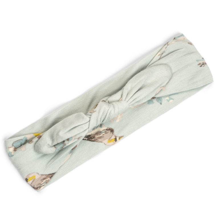 Milkbarn Blue Bird Bamboo Headband