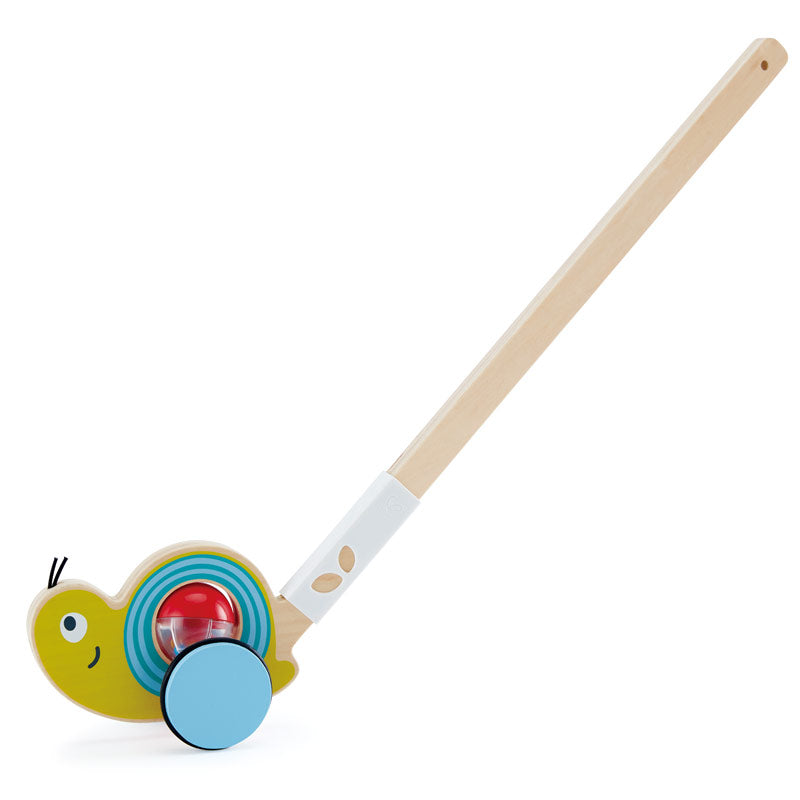 Snail Push Pal Wooden Toy