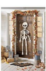 "Skeleton Halloween Door Hangers - Select ""Creep It Real"" Or ""Haunted Home"""