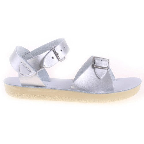 Surfer Salt Water Sandals - Silver