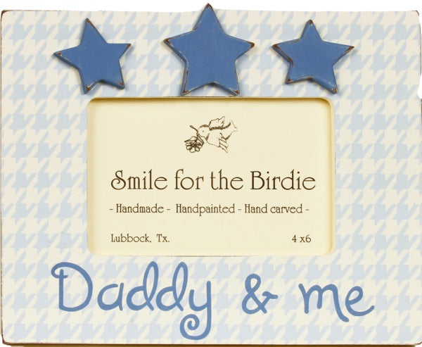 Daddy & Me -Blue - 592-RB-  Picture Frame