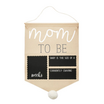 Pregnancy Photo Canvas Banner