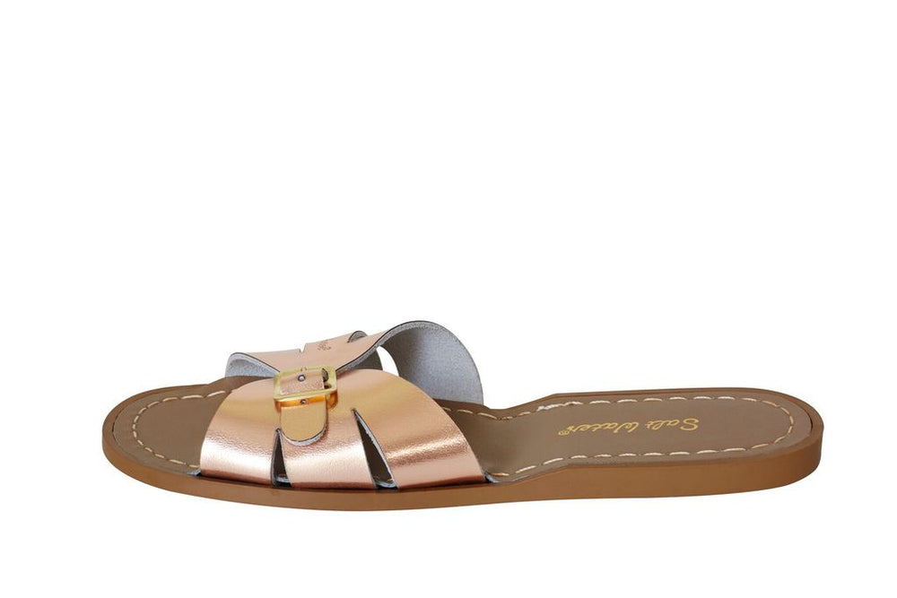 Salt Water Classic Slides- Rose Gold