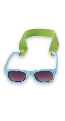 Teal Blue Boys' Sunglasses & Strap Set