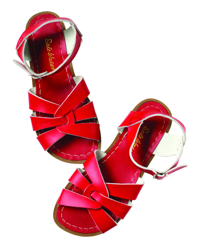 Salt Water Original Sandals- Toddler To Adult- Red