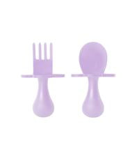 First Self Feeding Utensil Set - Lilac