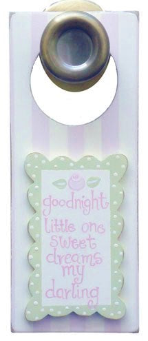 Goodnight - Girl - Door Hanger - 920-DH