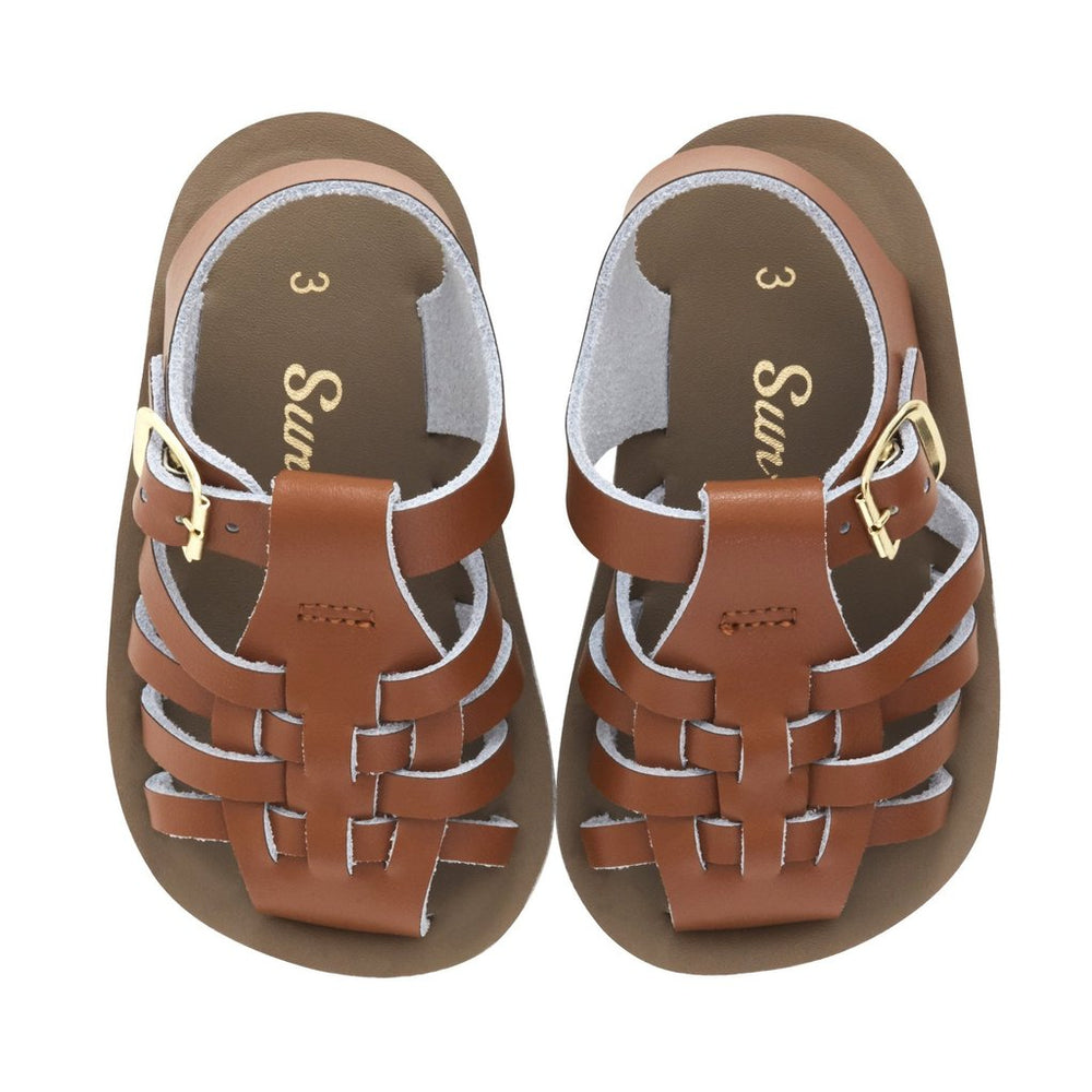 Sailor Salt Water Sandals - Tan