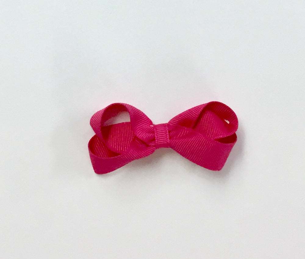 Bow - Shocking Pink - 4 Sizes Available