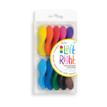 Left / Right Crayons - Set of 10